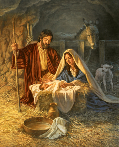 the birth of jesus christ infinitely in the know
